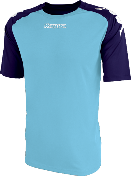 Paderno Match Shirt SS Blue Light / Blue Marine